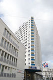 Luxury hotel in Montreux, Switzerland Royalty Free Stock Photos