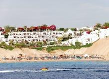 Luxury hotel in Naama Bay Stock Image