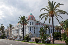 Luxury hotel Negresco Stock Photos