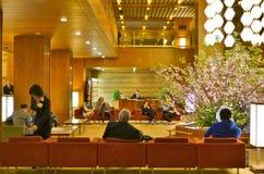 The luxury Hotel Okura in Tokyo, Japan Stock Photos