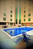 Luxury hotel pool Stock Image
