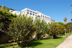 Luxury hotel recreation area Royalty Free Stock Photography