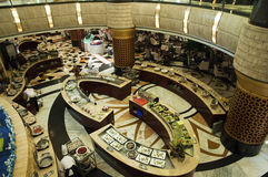 Luxury hotel restaurant. A luxury hotel restaurant in Chongqing, China Royalty Free Stock Photo