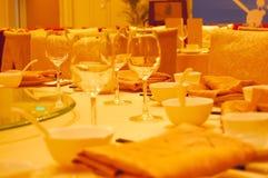 Luxury hotel restaurant Stock Photography