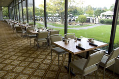 Luxury hotel restaurant Stock Photo