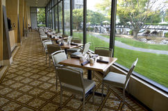 Luxury hotel restaurant Royalty Free Stock Photography