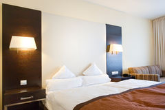 Luxury hotel room Stock Photography