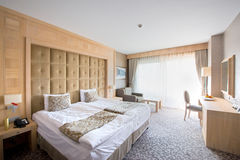 Luxury hotel room Stock Image