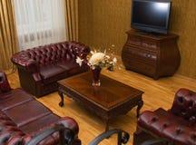 Luxury hotel room Stock Images