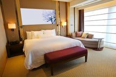 Luxury hotel room. The luxury five star hotel room Stock Photos