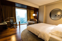 Luxury hotel room in asia Royalty Free Stock Photo
