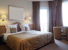 Luxury hotel room Brugge Bruges Belgium 5 star Stock Photography