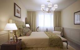 Luxury hotel room design Stock Photo