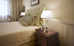 Luxury hotel room interior Stock Photo