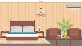 Luxury hotel room interior east style with furniture Stock Photography