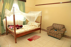 Luxury Hotel Room, Uganda, Africa Royalty Free Stock Photography