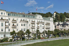 Luxury Hotel Sacher in Salzburg, Austria. Stock Images