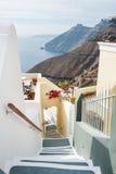 Luxury hotel with sea view Stock Photos