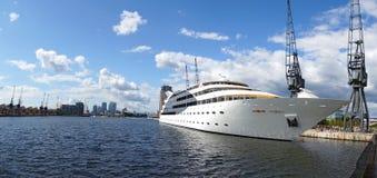 Luxury Hotel Ship Stock Photography