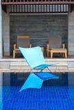 Luxury hotel swimming pool Stock Image
