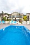 Luxury hotel at tropical island,Malaysia Stock Image