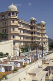 Luxury Hotel, Udaipur Stock Photos