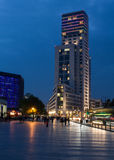 A luxury hotel Waldorf Astoria by Hilton (Zoofenster) in West Berlin. Stock Photo