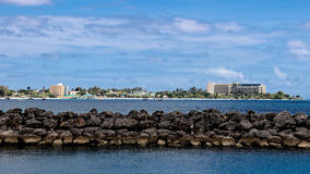Luxury Hotels on Barbados South Coast Stock Photos