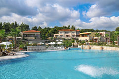 Luxury hotels in Greece Royalty Free Stock Photography