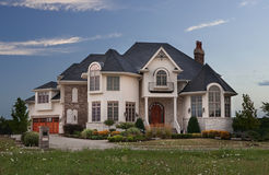 Luxury house Stock Photography