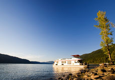 Luxury House Boat Stock Image
