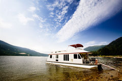 Luxury House Boat Stock Images