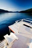Luxury House Boat Stock Image
