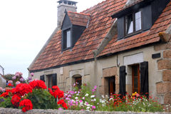 Luxury house in Brittany Royalty Free Stock Photo
