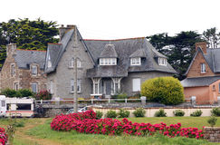 Luxury house in Brittany Stock Photography