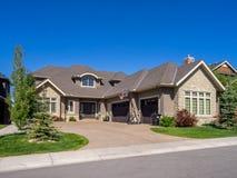 Luxury house, Calgary Royalty Free Stock Photo
