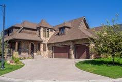 Luxury house, Calgary Royalty Free Stock Photos