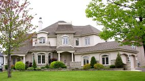 Luxury house, Canada Stock Photography