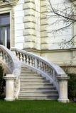 Luxury house entrance Stock Photography