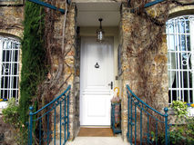 Luxury house entrance Royalty Free Stock Photography