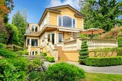 Luxury house exterior Stock Photography