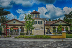 Luxury house in florida Royalty Free Stock Photography