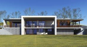 Luxury house Stock Photography