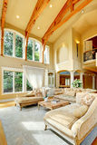 Luxury house interior. Living room Stock Image