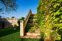 Luxury house in Mallorca. Spanish real estate of Mediterranean seashore, Mallorca Stock Image