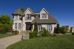 Luxury House Royalty Free Stock Photography