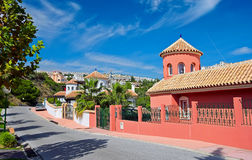 Luxury house in Spain Royalty Free Stock Photo