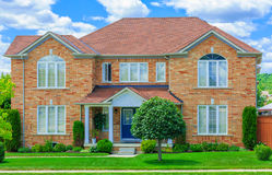 Luxury house  in the suburbs of Toronto Royalty Free Stock Photo