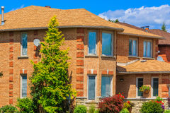 Luxury house  in the suburbs of Toronto Stock Photos