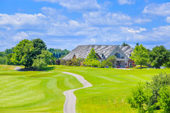 Luxury house  in the suburbs of Toronto Stock Images